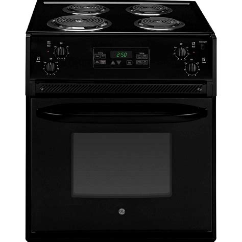 27 Electric Cooktop ge appliances jm250dfbb 27 quot drop in electric range black