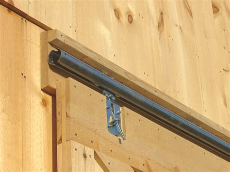 Barn Door On Track Barn Door Construction How To Build Sliding Barn Doors