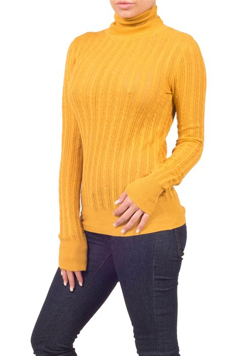 knitting pattern fitted sweater womens fitted casual sweater knitted ribbed turtleneck