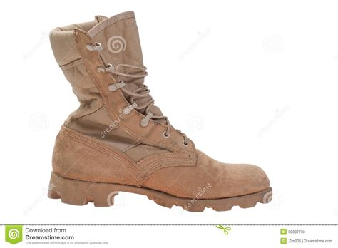 modern used boots stock photo image of isolated