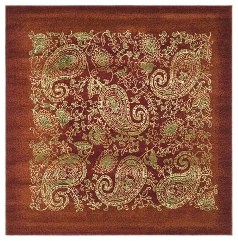 synthetic rugs synthetic fiber square rug 6 x6 contemporary area rugs by shopladder