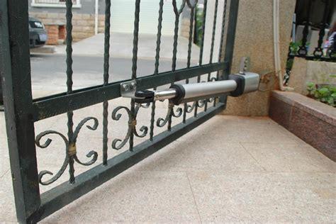 kg single swing auto motor gate opener  solar diy