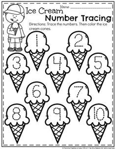 number sense cut and paste to match tons of great