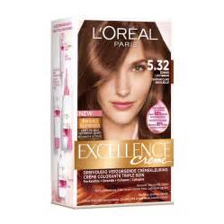 excellence age color chart brown hairs