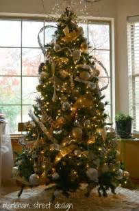 laura orr interiors rustic glam christmas tree