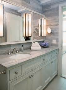 Vanity Table With Lights On Mirror East 88th Street New York Ny Transitional Bathroom