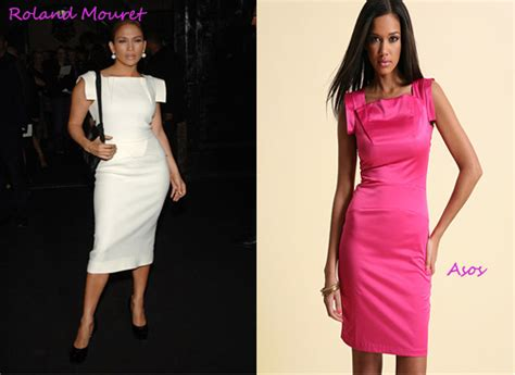 Who Wore Rm By Roland Mouret Better Trudie Styler Or Jemima Khan by Rip The Runway Rm By Roland Mouret Vs Asos Fashion Bomb