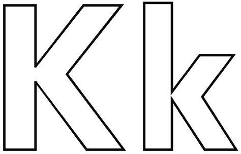 k color letter k coloring sheet printable letter k coloring pages