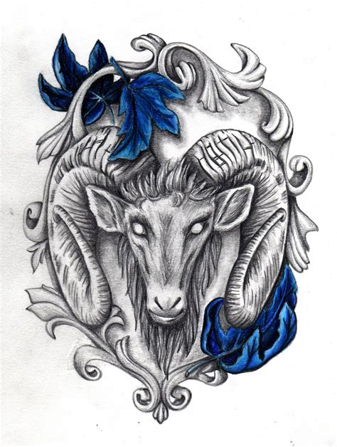 goat tattoo designs goat painting