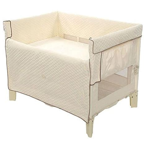 bassinet that attaches to bed arm s reach mini convertible co sleeper attaches to your