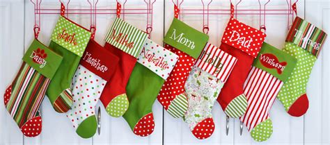 christmas stocking ideas christmas stocking choose your color combo and