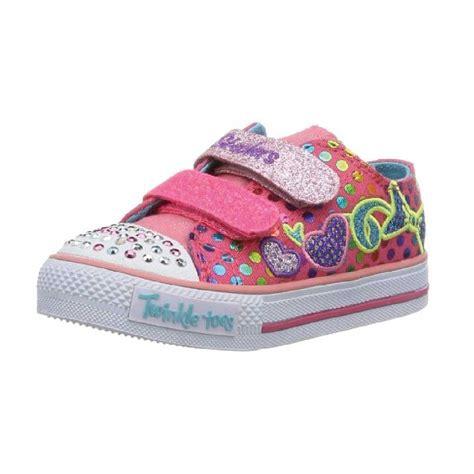 skechers shoes for kid skechers 10361l twinkle toes shuffles burst o