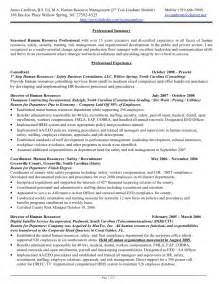 Best Resume Format For Hr Generalist by James Cambron Resume Hr Generalist 15 Plus Yrs Exp 2010