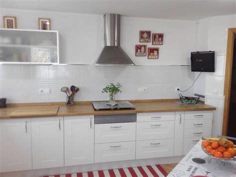 cambiar encimera cocina obras transformaci 243 n de cocina obra cambio de puertas