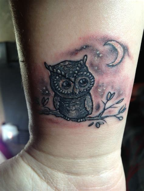 baby owl tattoo owl for my baby cool tattoos