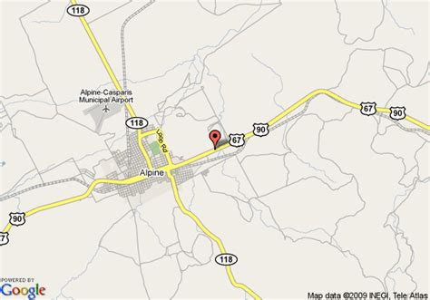 map alpine texas map of best western alpine classic inn alpine