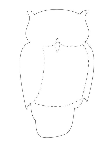 large printable owl template 1326 best template s images on pinterest stuffed animals