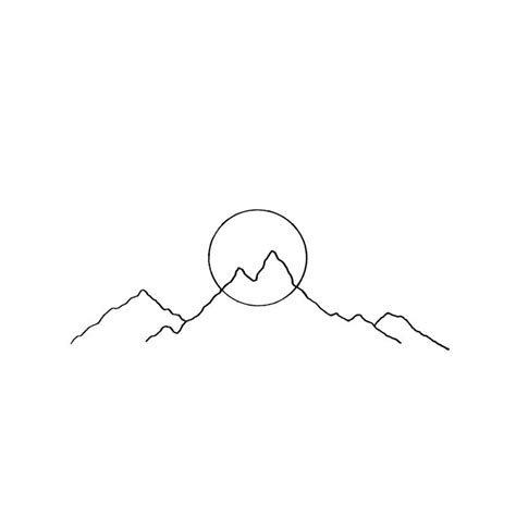 Simple L by Best 25 Simple Mountain Ideas On