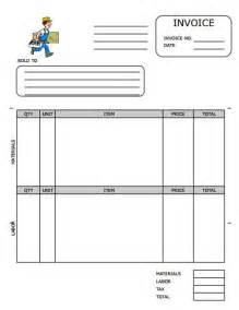 invoice template maker 25 professional carpenter invoice templates demplates