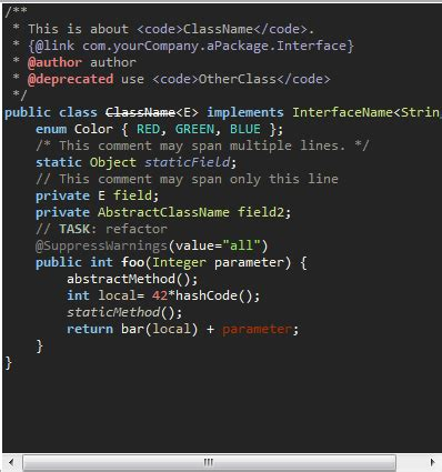 eclipse theme syntax eclipse syntax color scheme not working correctly stack