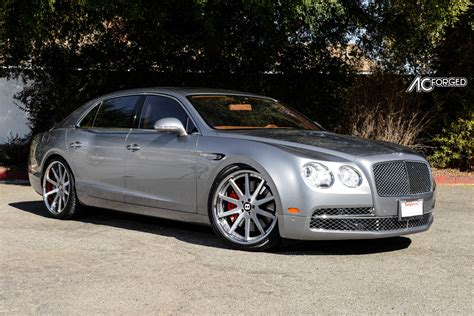 custom bentley flying spur bentley flying spur custom wheels ac forged acr 413 22x9 0