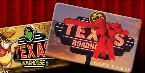 Texas Roadhouse Gift Card Balance - texas roadhouse gift card lamoureph blog