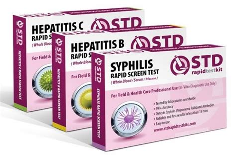 three ways to get tested for syphilis
