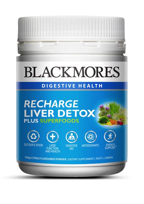 Liver Detox Plus by Buy Blackmores Recharge Liver Detox Plus Superfoods