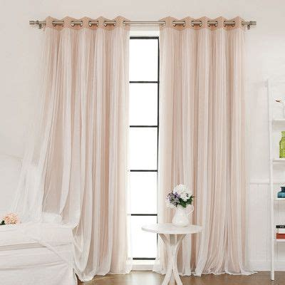 Bedroom Curtains Grommet Best 10 Tulle Curtains Ideas On Bed Valance