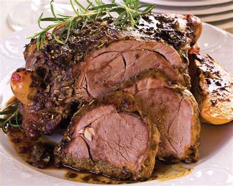 roast leg of lamb how to roast a leg of lamb recipe dishmaps