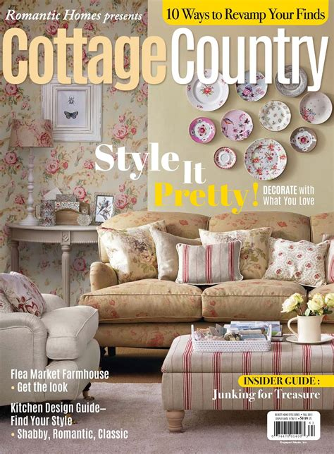 Cottage Country Magazine Cottage Style Magazine Summer Cottage Design Magazine