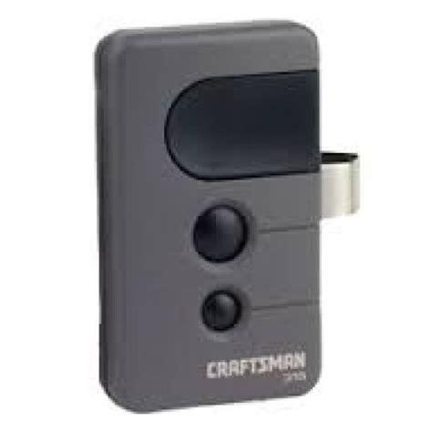 sears craftsman  compatible  mhz security