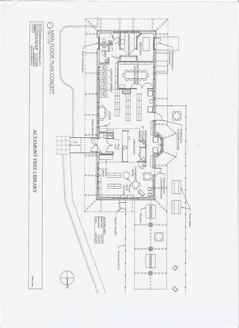 train station floor plan train station altamont free library