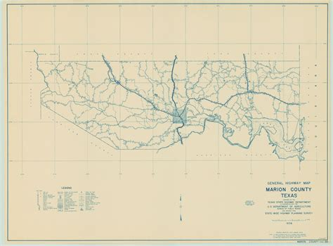 marion texas map maps