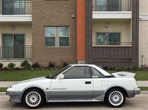 1987 Toyota Mr2 Supercharged 1987 Toyota Mr2 G Limited Supercharger 96 900 1 6