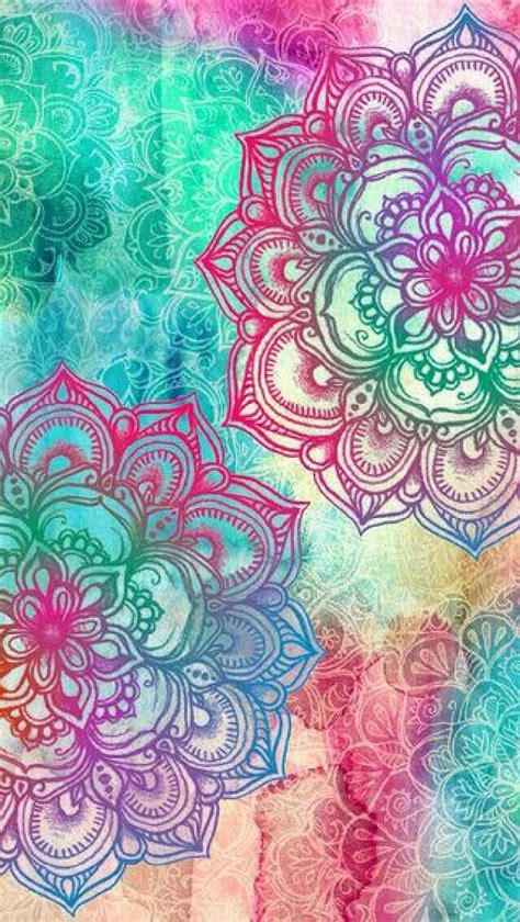 colorful mandala colourful mandala iphone background image 3351239 by