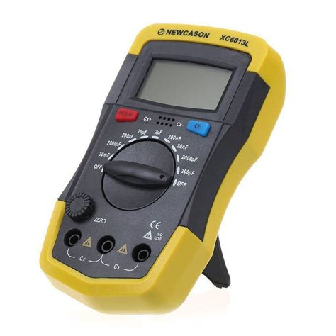 capacitor tester meter xc6013l digtital lcd meter capacitance capacitor tester tool mf uf circuit ebay