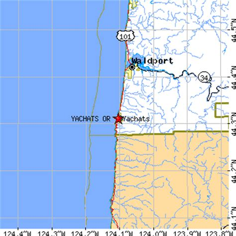 map of yachats oregon yachats oregon or population data races housing
