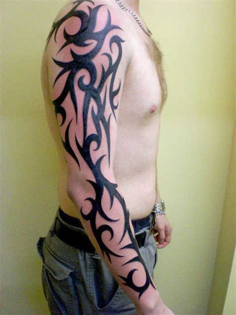 good tribal sleeve tattoos design ideas for men things i