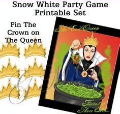 printable pin the crown on the princess disney descendants party package printables and games