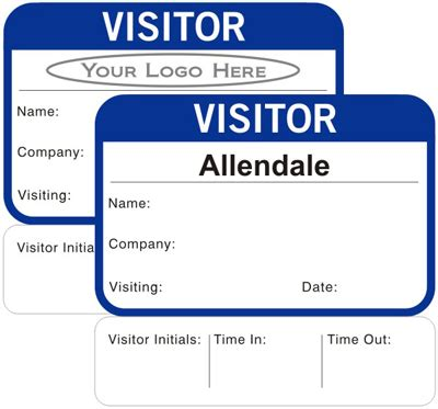 best photos of visitor pass template school visitor pass