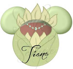 Princess and the frog tiana green dress inspired character digital