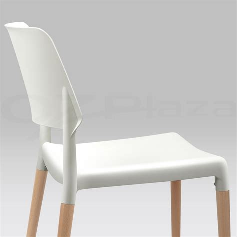 4x belloch replica dining chair stackable designer wooden