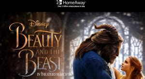 Homeaway Sweepstakes Beauty And The Beast - homeaway disney beauty and the beast win a trip fo giveawayus com