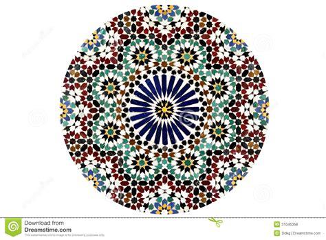 mosaic pattern circles arabesque mosaic pattern stock photo image of east