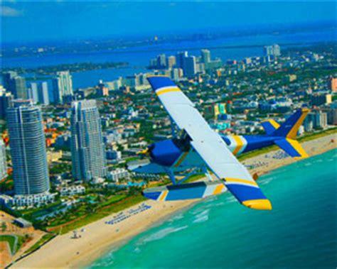 seaplane scenic flight miami skyline tour 30 minute flight