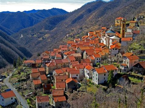 small villages pentema a small village near genoa italy by umberto