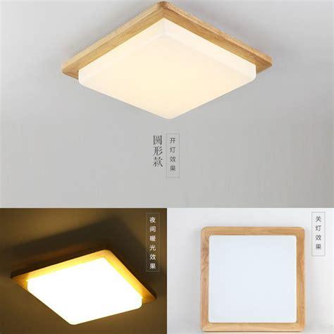 laras oficina techo modern led ceiling lights wood lighting plafoniere kids
