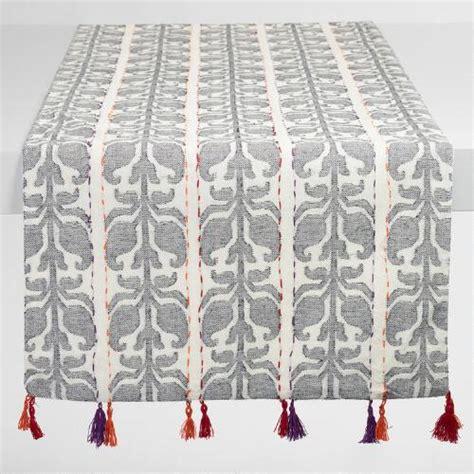 jacquard table runner floral stripe jacquard nitika table runner market