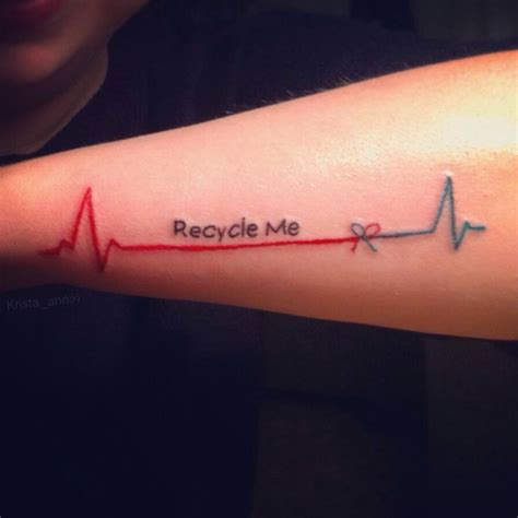 Organ donor tattoo I'm honor of my uncle :)   Tattoos   Pinterest   Chang'e 3, Fonts and Awesome